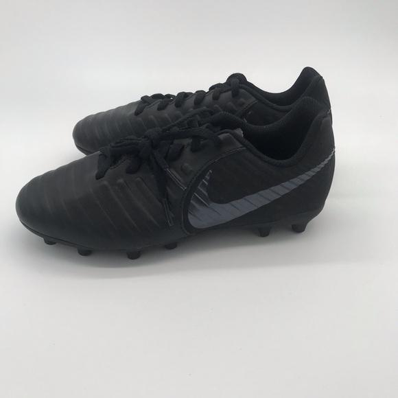 low priced 9c219 cc5dd Nike jr legend 7 club FG boys soccer cleats black NWT